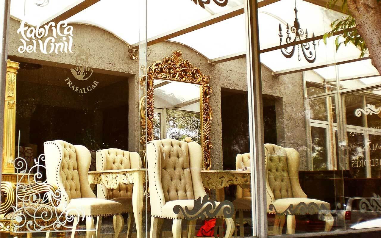 decals decorativas para vitrina de muebler a en