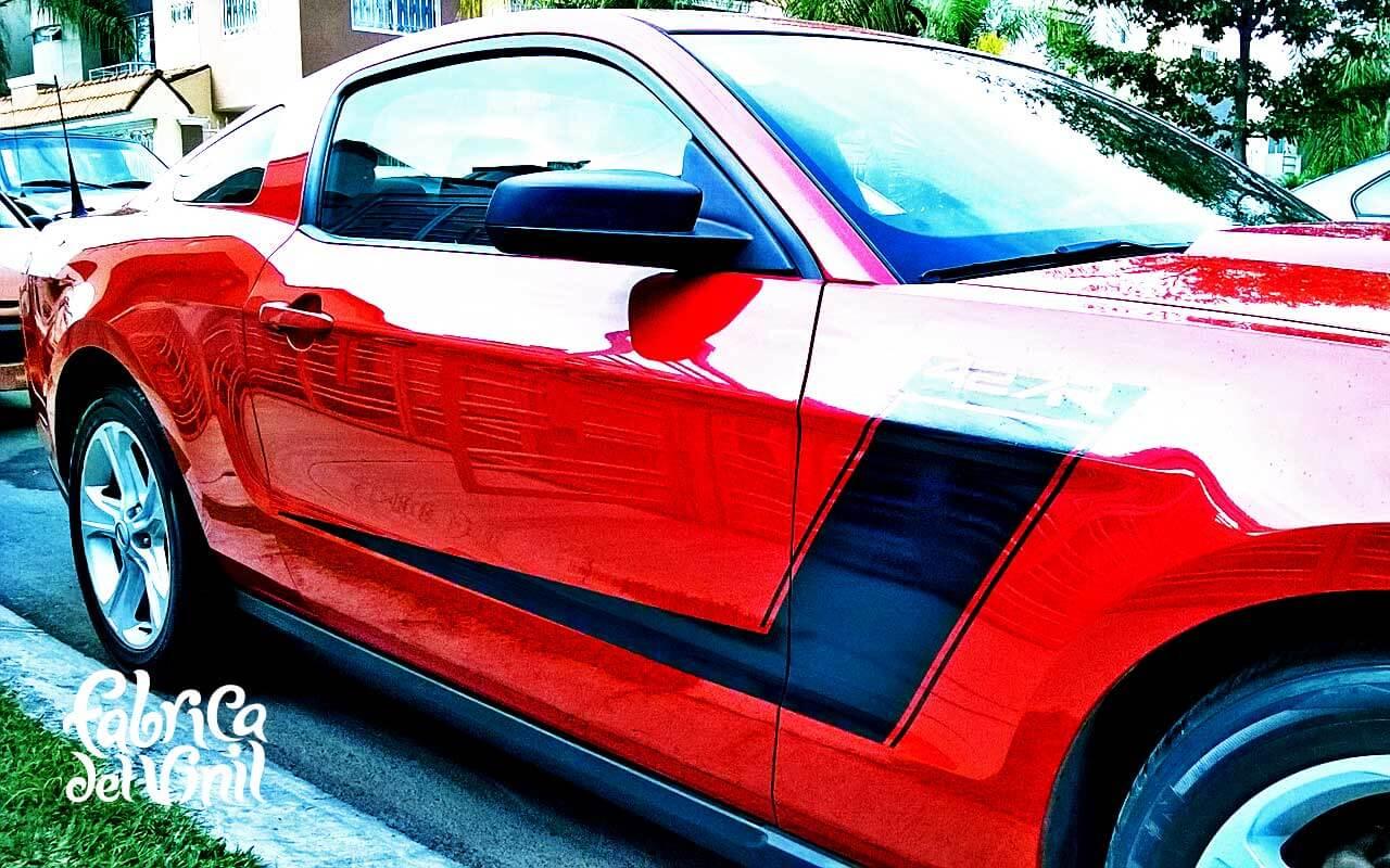 Rotulo Calcomania Hecha A La Medida Para Mustang