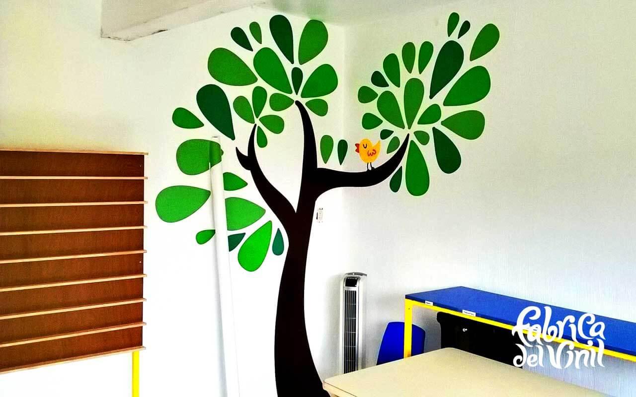 Árbol infantil para salón de clases en Howard Gardner School Zapopan ...