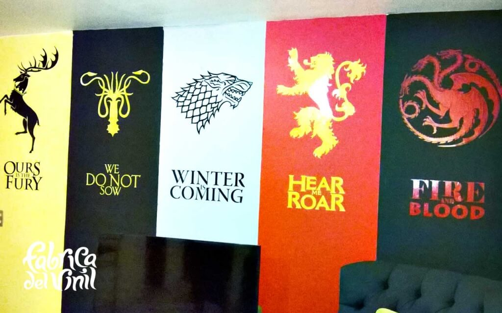 Juego De Tronos Game Of Thrones Calcomanías Viniles Y Murales Para