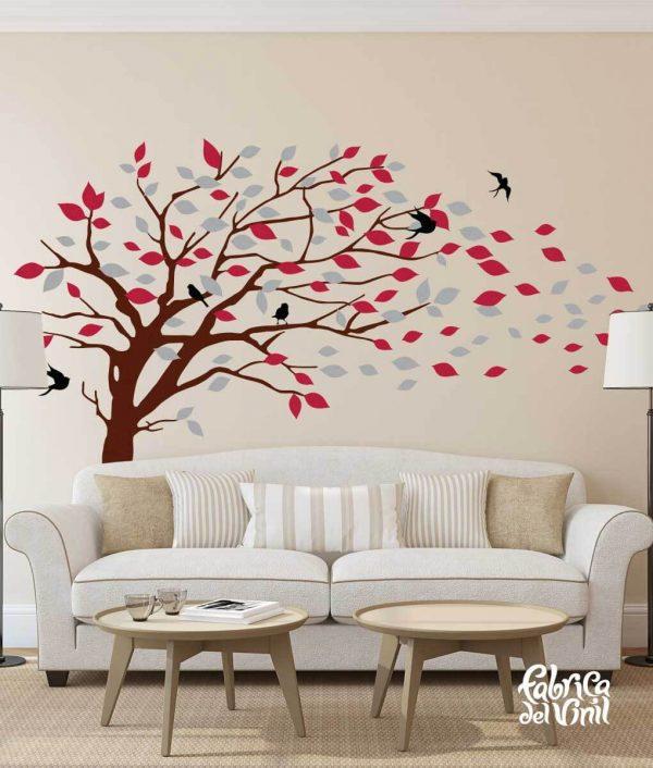 arbol-inclinado-por-el-viento-tienda-combinacion-vintage-antiguo brown-cardinal-red-silver-orange