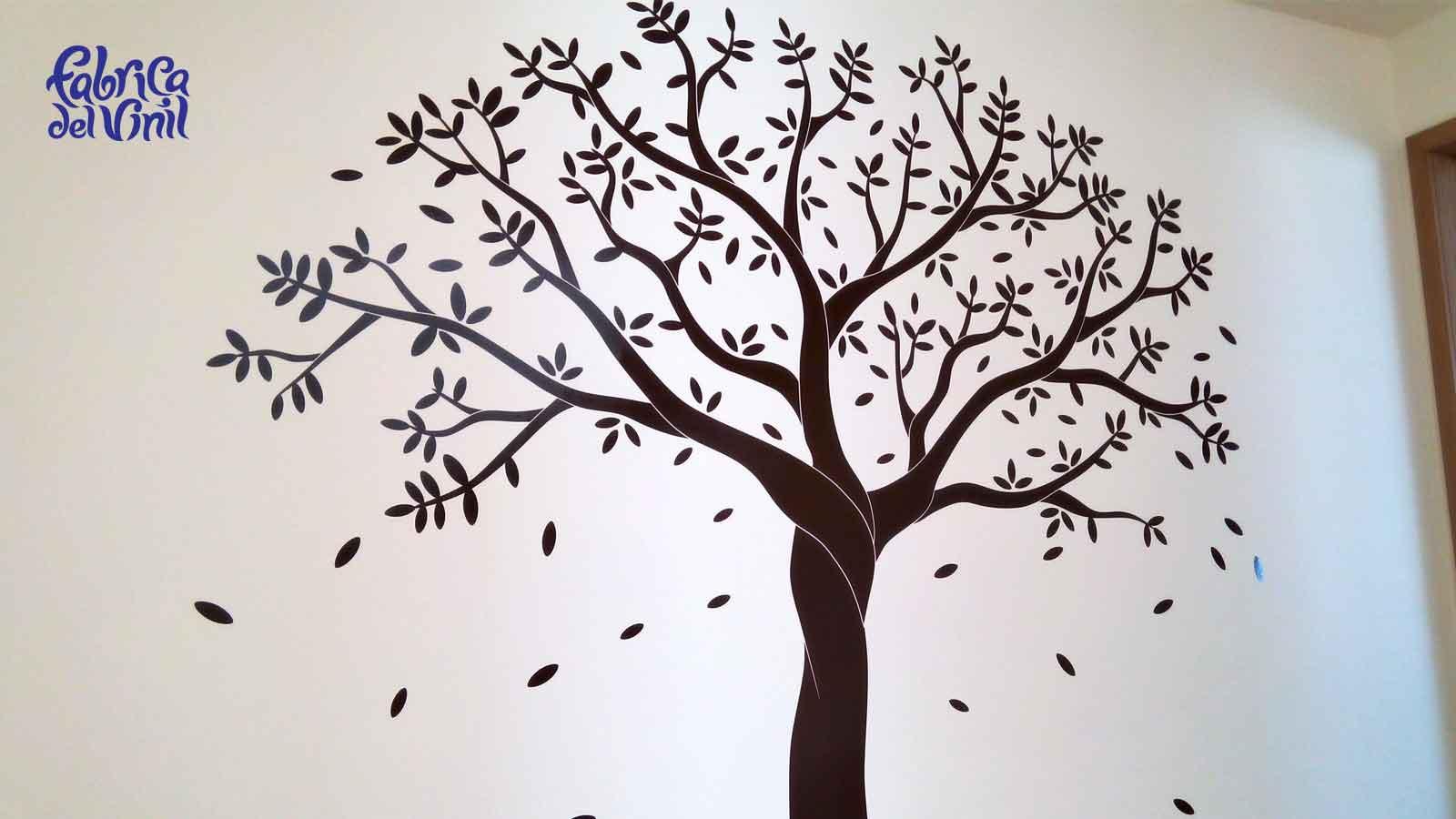 Fabrica del vinil decoraci n de interiores con rboles de vinilo en m xico - Vinilos de arboles para paredes ...