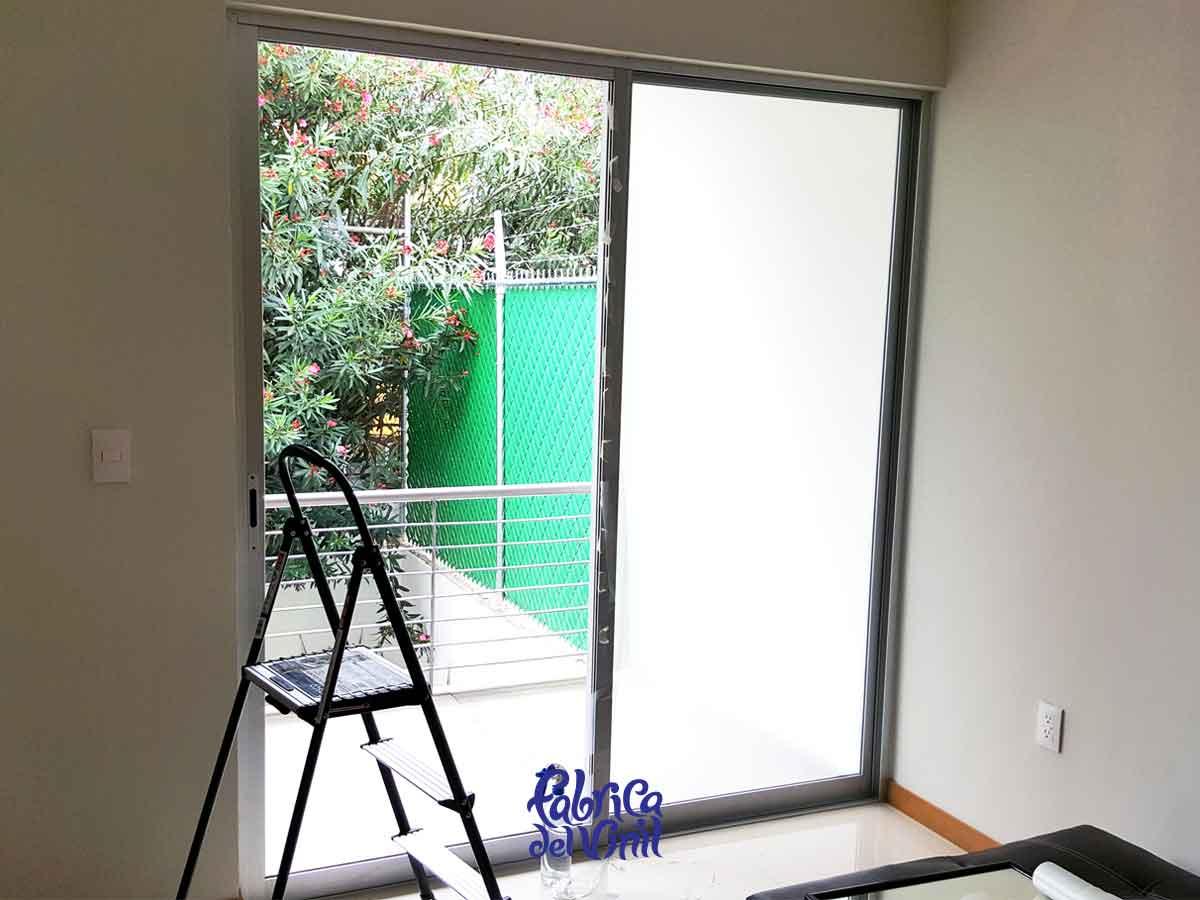 Película de privacidad para ventanas