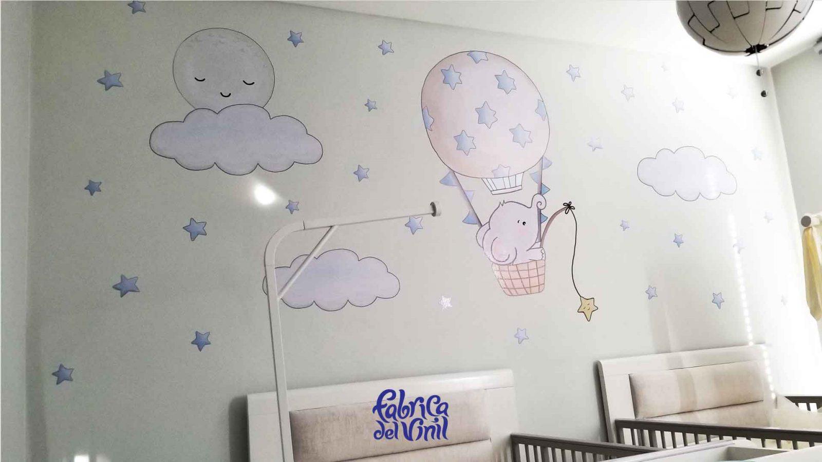 Decoraciones para cuartos de bebés