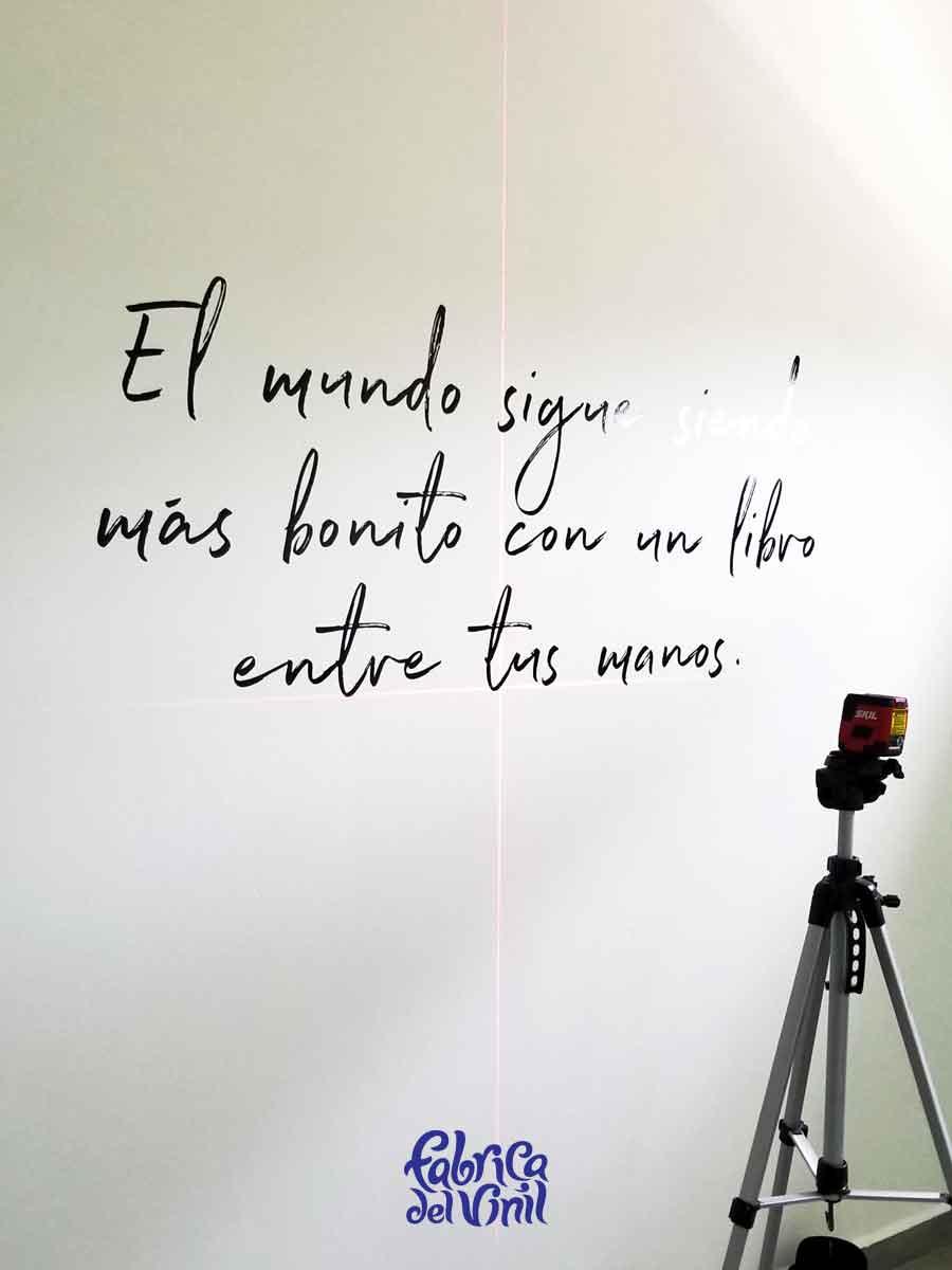 Frases para decorar paredes