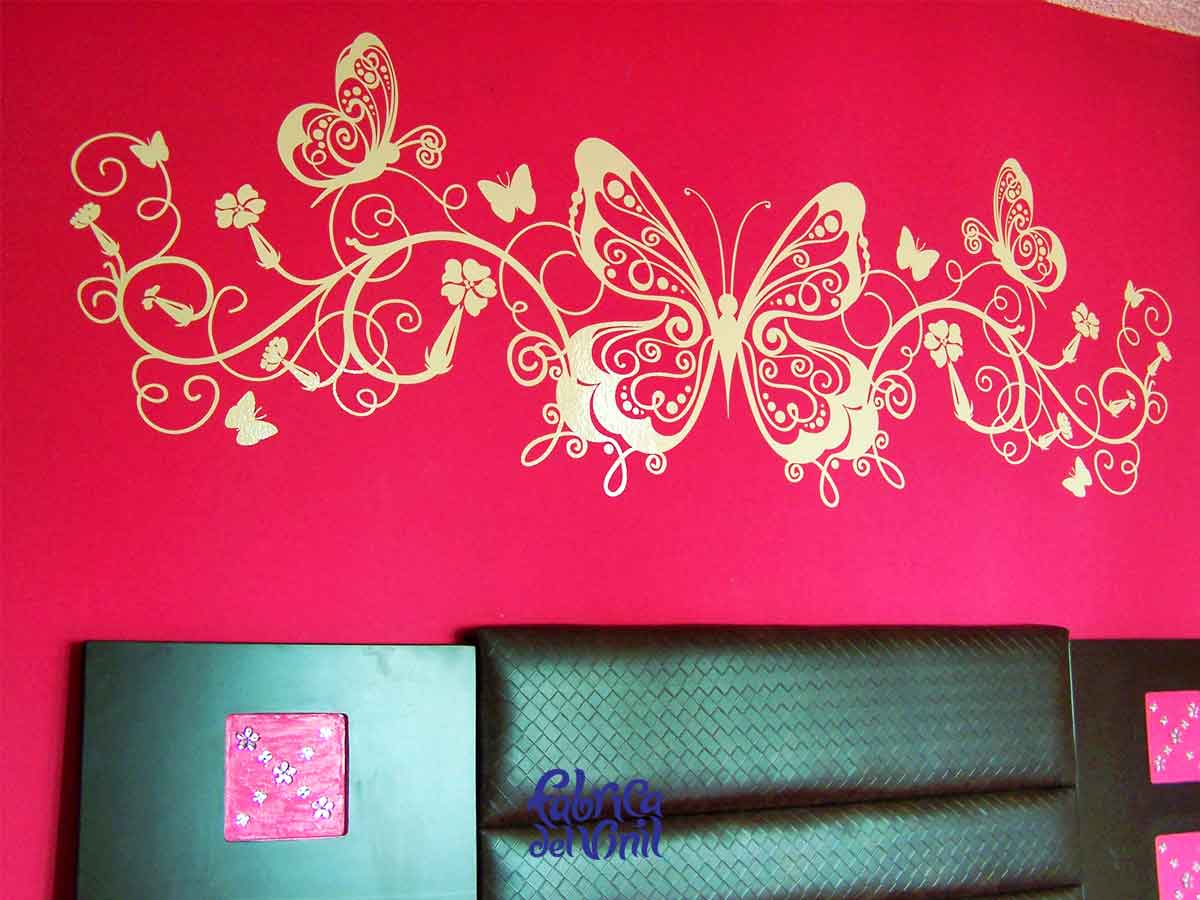 Mariposas decorativas pared