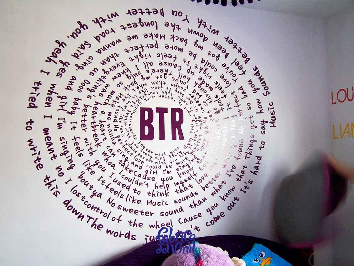 letras decorativas para pared