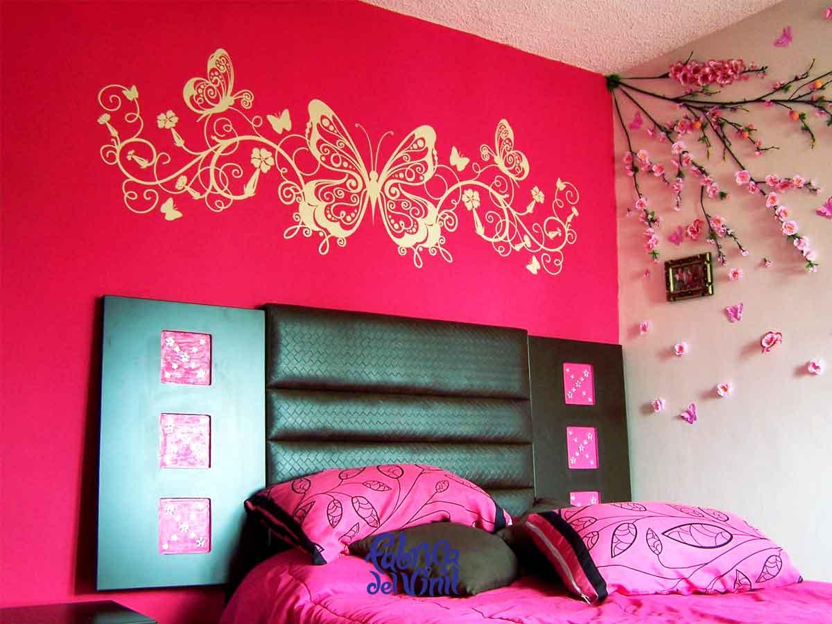 Mariposas decorativas para pared