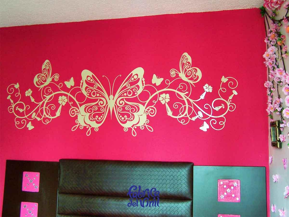 Mariposas para decorar paredes