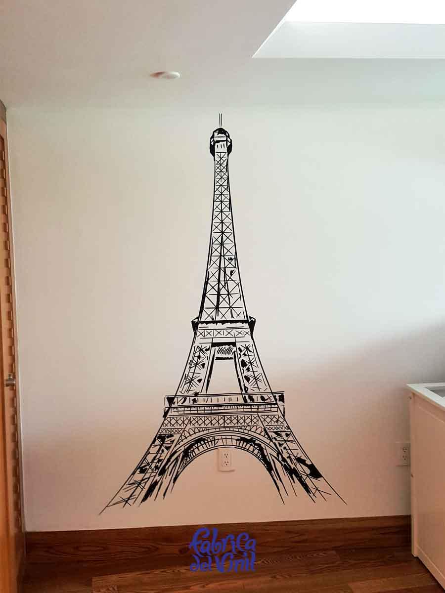 Torre Eiffel vinilo