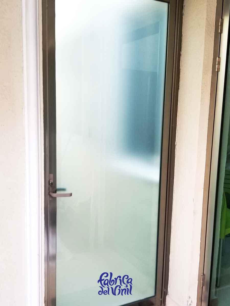 Película de privacidad para vidrios